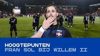 HOOGTEPUNTEN | Fran Sol in het shirt van Willem II