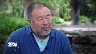 Artist Ai Weiwei on China's political influence in Australia