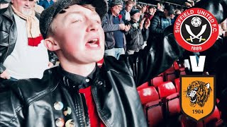 WE'RE TOP OF THE LEAGUE! - SHEFFIELD UNITED V HULL CITY MATCHDAY VLOG