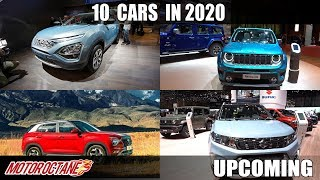 10 Upcoming Cars in 2020 | Hindi | MotorOctane