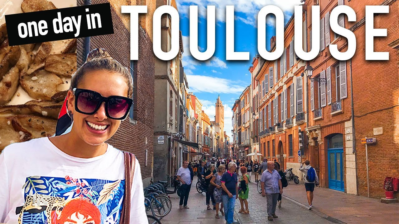 Download Toulouse France VLOG: One Day Travel Guide
