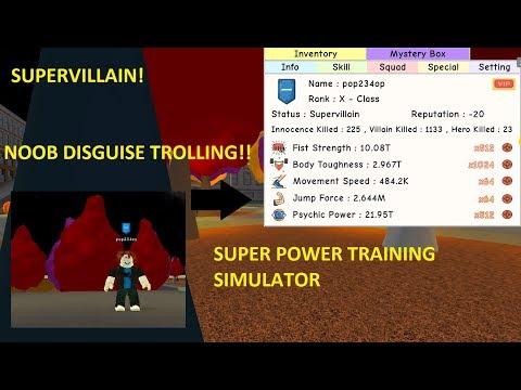 Roblox: EVIL GOKU DISGUISE *REKTS THE SERVER* Super Power Training