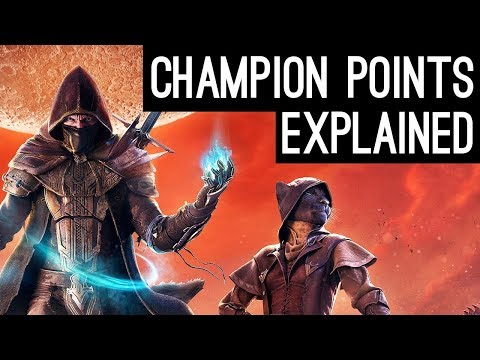 The Most Powerful System in the game? Champion Points explained ESO
