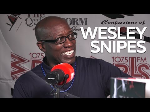 Wesley Snipes Shares Great Michael Jackson Story + New Book 'Talon Of God'