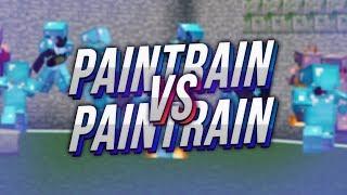 THE BATTLE OF THE GODS *PAINTRAIN VS PAINTRAIN* ( Minecraft PvP )