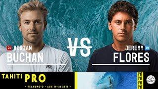 Jérémy Florès retrouve les quarts au Tahiti Pro
