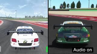 Assetto Corsa Competizione vs rFactor 2 (Sound Commparison)