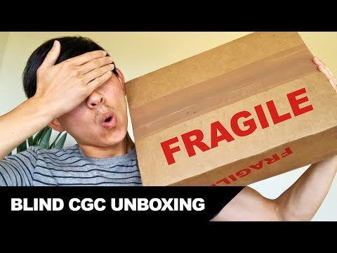 First Blind CGC Unboxing (for a Friend) • Mail Call • Comic Book Haul • Vlog