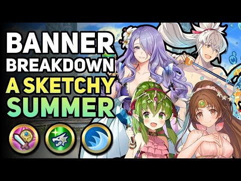 Banner Breakdown - A Sketchy Summer (Stats, Skills, & Builds