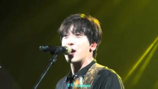 151002 CNBLUE Come Together in Shanghai - Roller Coaster (정용화 Yonghwa focus)