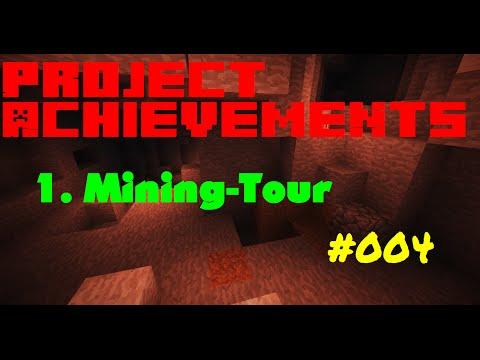 Minecraft Project Achievements #004 - Die erste Mining-Tour (GERMAN)