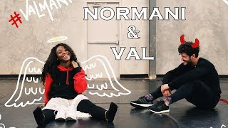 Normani And Val - All Performances On DWTS