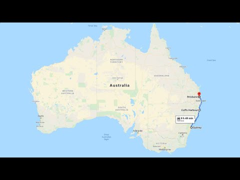 Sydney to Brisbane - A Complete Real Time Road Trip