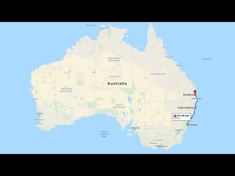 Long Full Realtime Driving Sydney To Brisbane