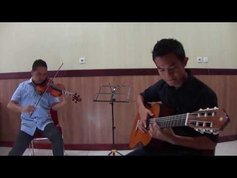 Sulawesi Pa'rasanganta (Violin and Guitar cover)