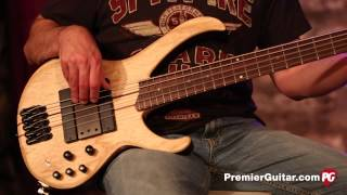 review demo ibanez btb 33 5 string bass
