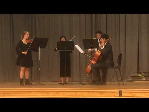 White Station High Chamber Group - Hadyn's Quartet in D minor