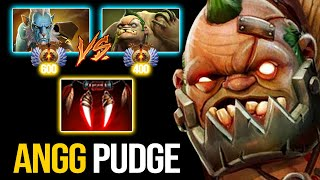 RANK 400 Pudge Offlane Vs POOR PL!!! Pudge Official