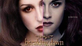 Twilight Breaking Dawn II: Bella as Vampire Makeup Tutorial + GIVEWAY
