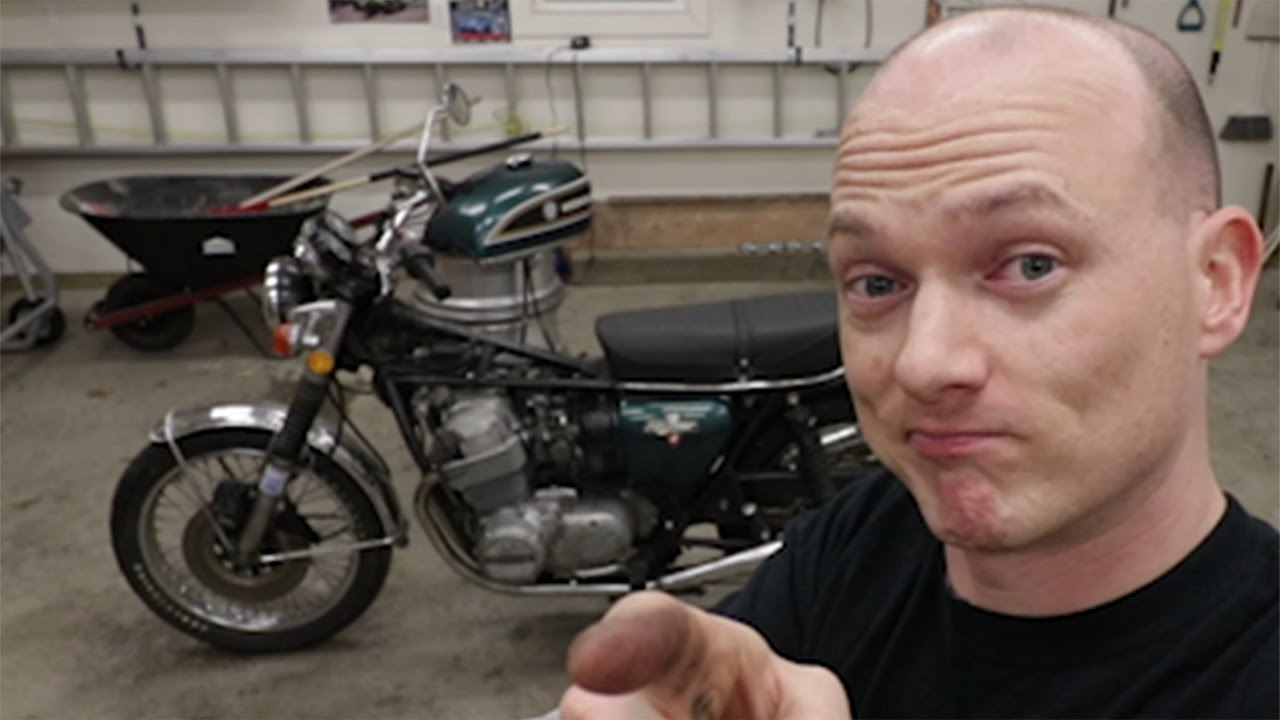 hight resolution of diy cb750k oil change and compression test
