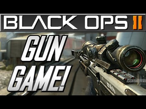 Black Ops 2 Gun Game Funny Moments - The Dirty Knife …