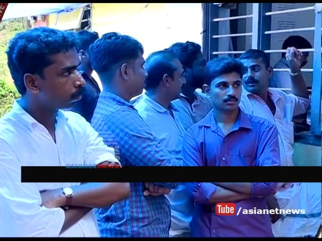 Vigilance raid in Kozhikode Chempanoda village office