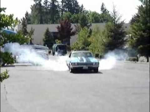 Video of 68 El Camino Burnout