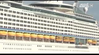 Đón Tàu Du Lịch Lớn Thứ 3 Thế Giới Tại Cảng Chân Mây