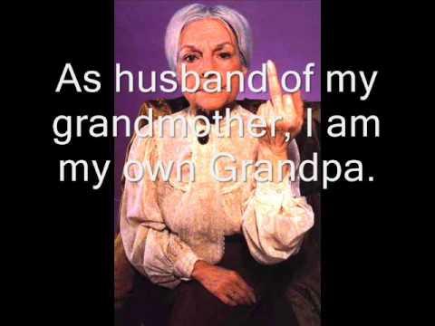 I'm my own grandpa - Frank A. Willis (with lyrics)