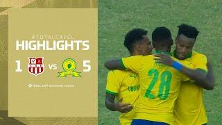HIGHLIGHTS   CR Belouizdad 1-5 Mamelodi Sundowns   MD 2   #TotalCAFCL