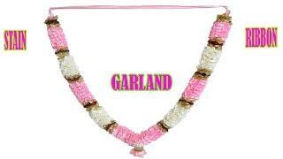 Stain Ribbon Garland Making | Griha Udyog