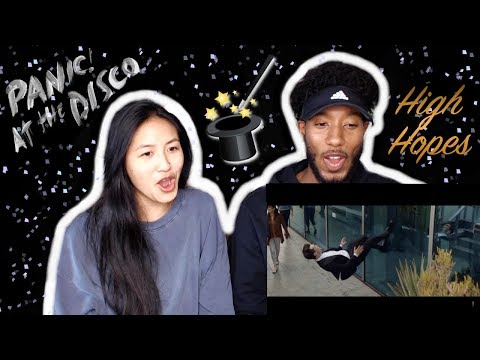 PANIC! AT THE DISCO - HIGH HOPES [OFFICIAL VIDEO] | REACTION