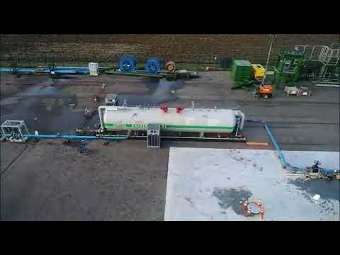 Geothermie productietest Middenmeer (Bakker Oilfield Supply)