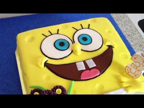 Спанч Боб. Мой тортик ко дню рождения сыночка