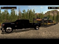 Farming Simulator 2017 Powerstroke Hauling Bikes, Tracked Quad and Tracked Raptor