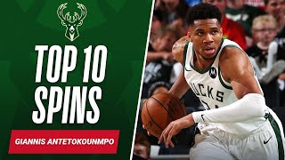 Top 10 Giannis SPÏNS & FINISHES 🔝🔟