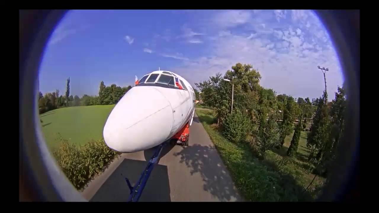 Video Pozemní transport letecké techniky na největší vzdálenost