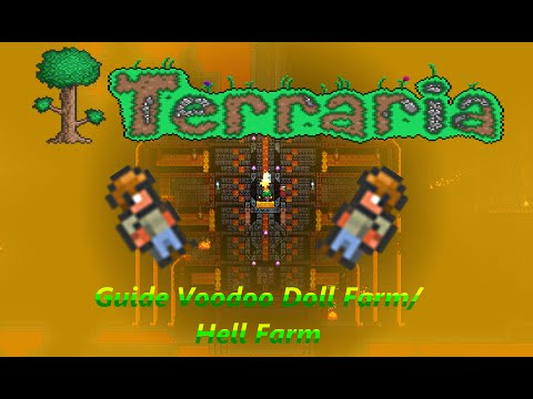 Terraria Quick And Easy Guide Voodoo Doll Farm/Hell Farm