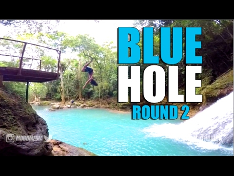 The BLUE HOLE Jamaica