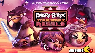 Angry Birds Star Wars II - REBELS Birds Side Level BE-1 Walkthrough 3 Star
