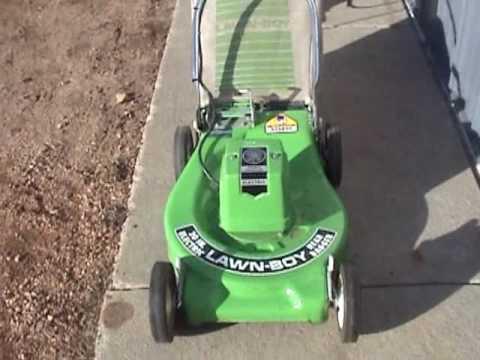 Lawn Boy Electric Mower