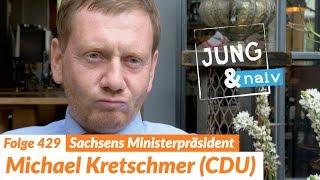 Sachsens Ministerpräsident Michael Kretschmer (CDU) - Jung & Naiv: Folge 429 | Wahl in Sachsen