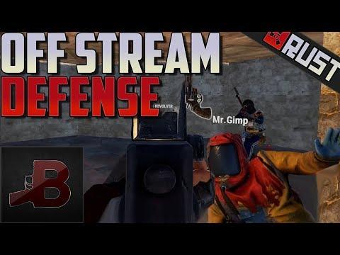 Off Stream Defense - Rust