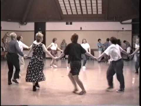 """Israeli Folk Dancing """"Oldies,"""" Cupertino, CA  06/08/91. Video 1 of 8."""