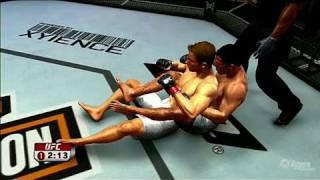 UFC Undisputed 2009 Xbox 360 Gameplay - Nate Dog Fights Video