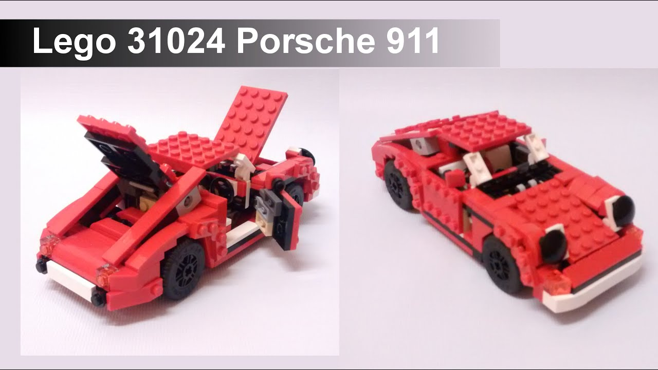 Lego Porsche Instructions