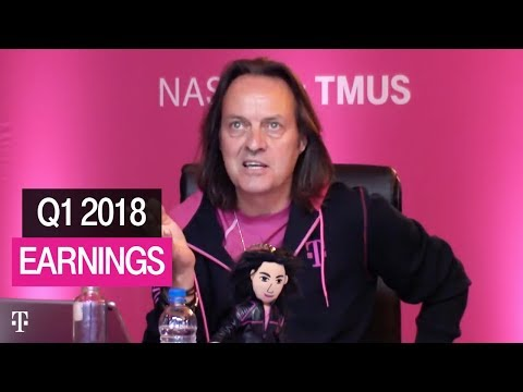T-Mobile Q1 2018 Earnings Call: Behind-the-Scenes Livestream