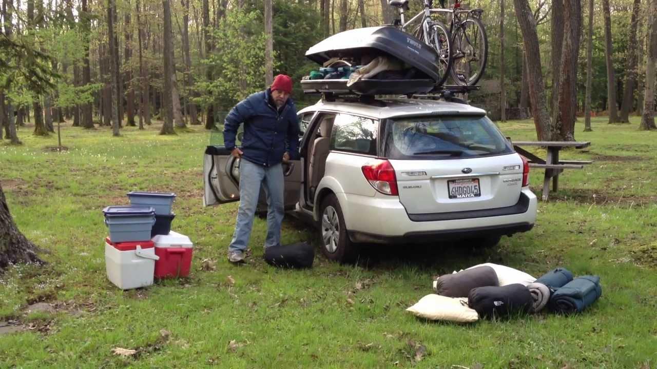 Packing The Subaru Road Trip Spring 2012