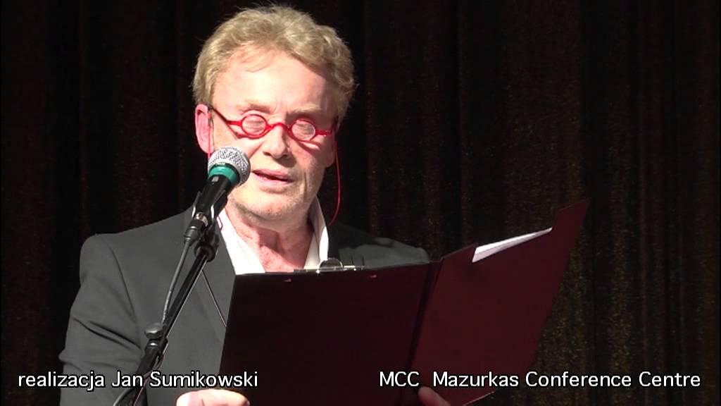 IV Forum Humanum Mazurkas koncert -Daniel Obrychski -wiersz Bułata Okudżawy w MCC