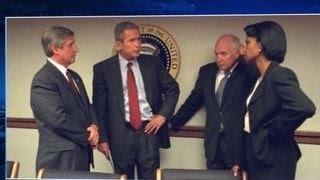Опубликованы фотографии первой реакции Буша на теракты 11 сентября